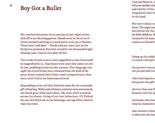 The Meditations Part I: Nathan Curnow on 'Boy Got a Bullet'