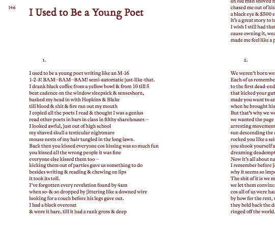 The Meditations Part VI: Daniel East on 'I Used to be a Young Poet'