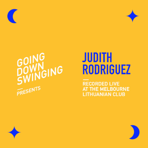 Judith Rodriguez's Live Album Released