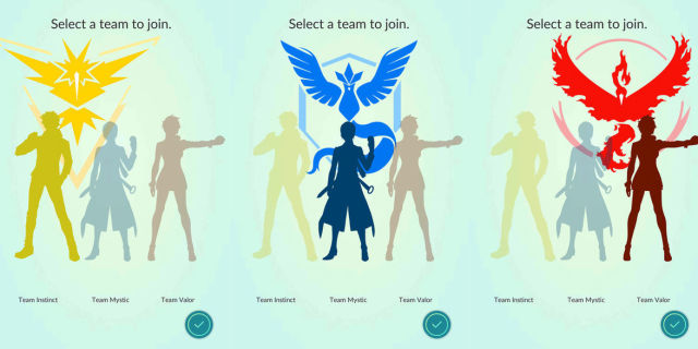 pokemon go pick team 2